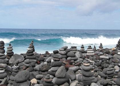 Камни на пляже Плайя-Хардин