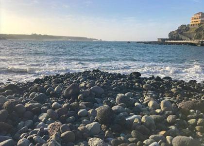 Камни на пляже Плайя Сан-Маркос