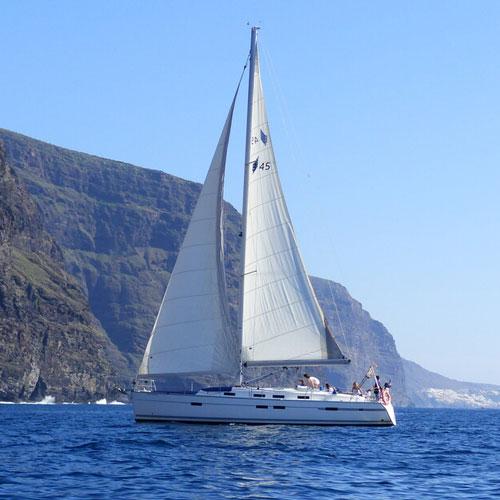 Катание на парусной яхте