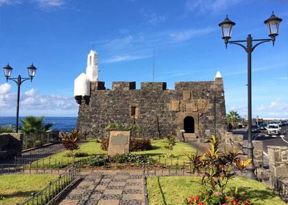 Крепость Сан Мигель у города Гарачико