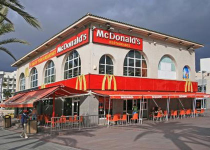 McDonald's на Тенерифе