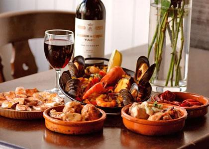 Национальные блюда испанской кухни