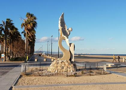 Около пляжа Лас-Аренас
