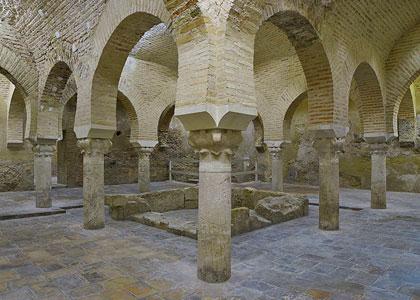 Останки бань в испанском городе Хаэн