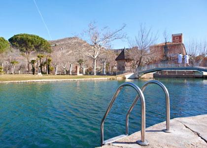 Открытый бассейн в Balneario Termas Pallarés