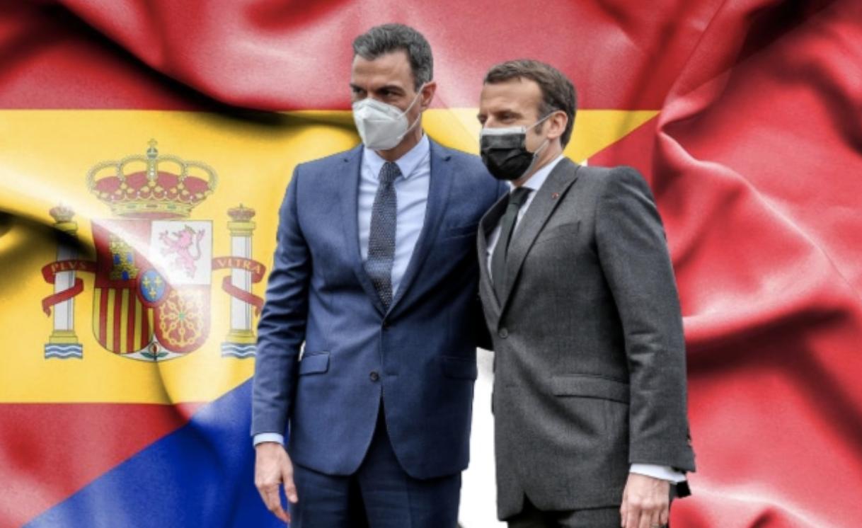 Педро Санчез и Макрон