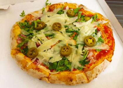 Пицца из ресторана Island Pizza
