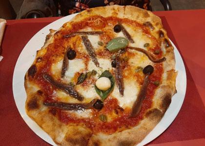 Пицца в ресторане Plazale