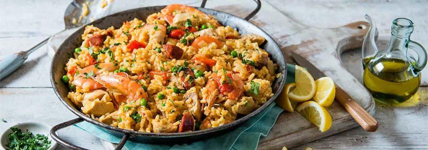 Рецепт паэльи для домашнего приготовления