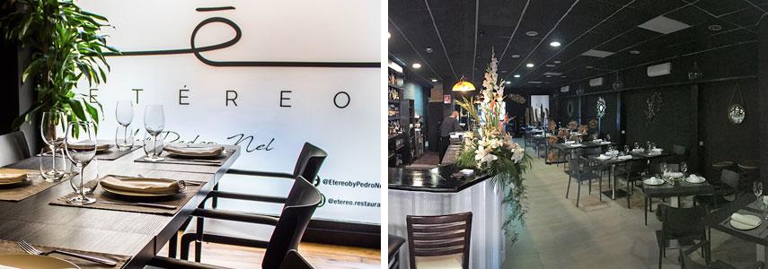 Ресторан Etereo by Pedro Nel
