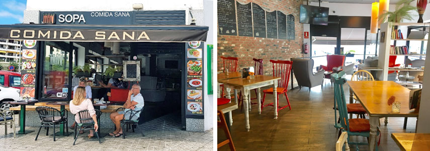 Ресторан La Sopa – Healthy Food