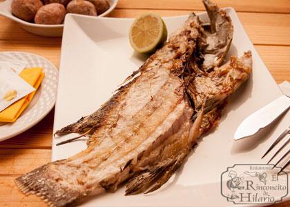 Рыба в ресторане El Rinconcito de Hilario