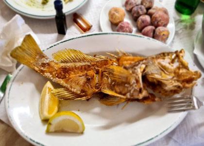 Рыба в ресторане La Pimienta