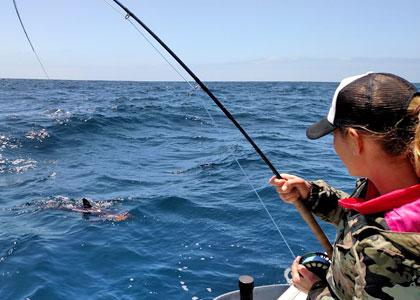 Рыбалка на Тенерифе в открытом океане