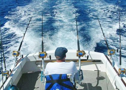 Рыбалка с катера троллингом