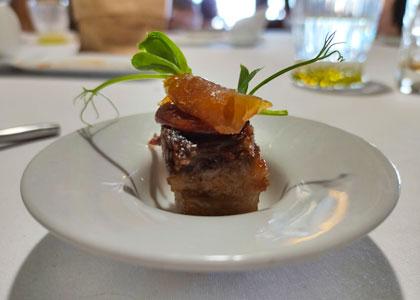 Рыбное блюдо в ресторане Casa Fito