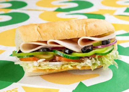 Сендвич в Subway