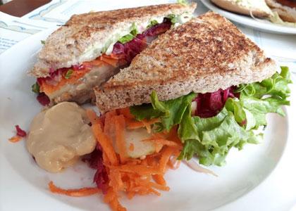 Сендвичи в ресторане El Limon