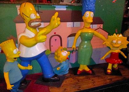 Симпсоны в музее восковых фигур