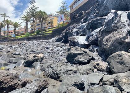 Скалистая часть Плайя-де-ла-Арена