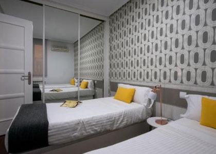 Спальня в Roisa Centro