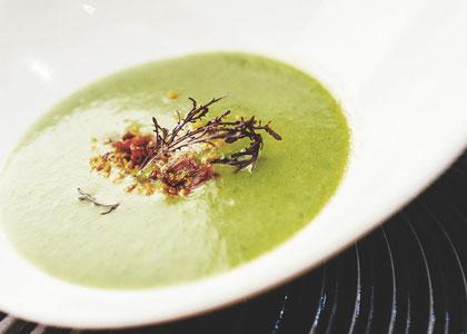 Суп в ресторане Sucas