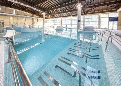 Термальный бассейн в Balneario de Archena