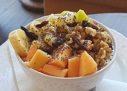 В ресторане La Sopa – Healthy Food