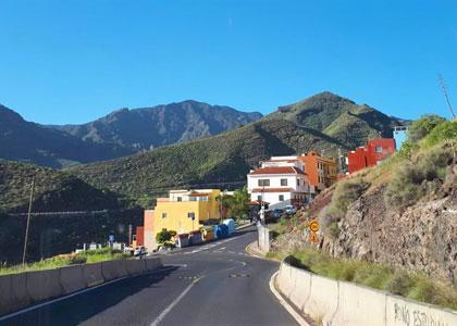 Въезд в Сан-Андрес