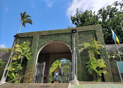 Вход в Ботанический сад в Пуэрто-де-ла-Крус