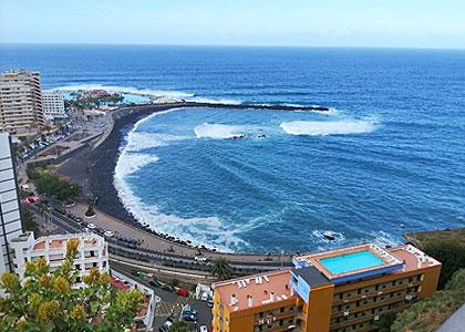 Вид на пляж Мартьянес