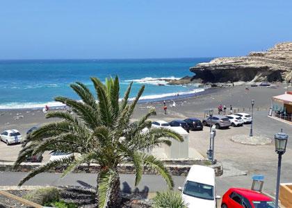 Вид на пляж Playa de Ajuy