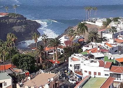 Вид на Пуэрто-де-Сантьяго