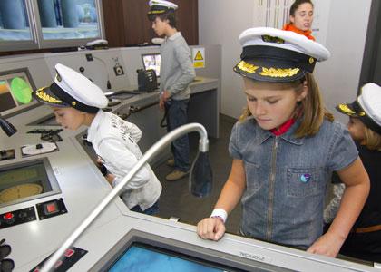 Юные капитаны в центре Micropolix
