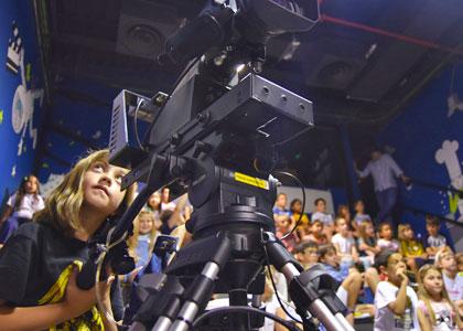 Юный кинооператор в центре Micropolix