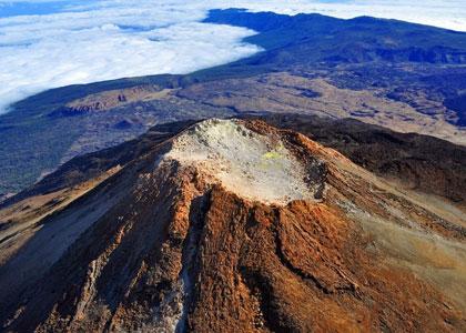 Жерло вулкана Тейде на Тенерифе