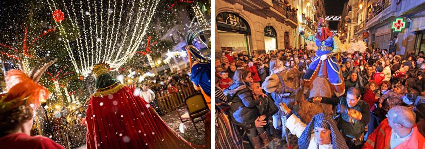 Зимние праздники в Испании