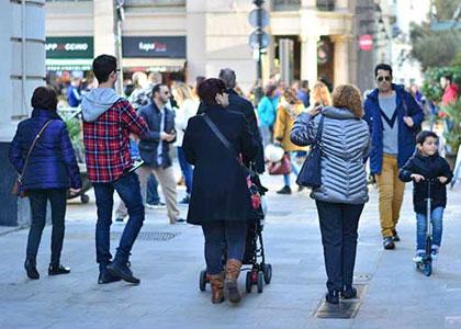Зимний стиль в Испании