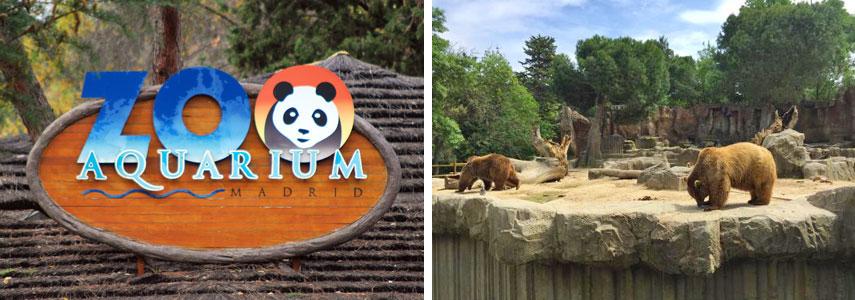 Зоопарк на территории Casa de Campo