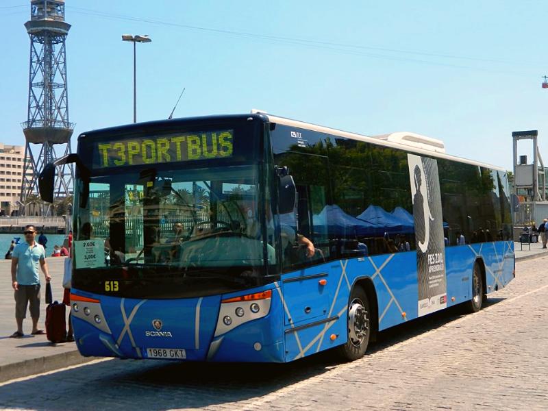 Автобус в порт