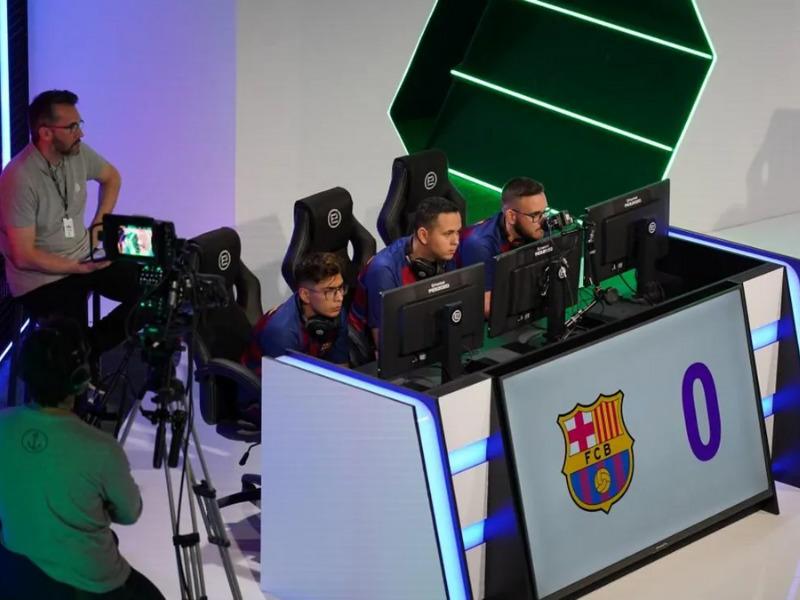 FC Barcelona киберспорт
