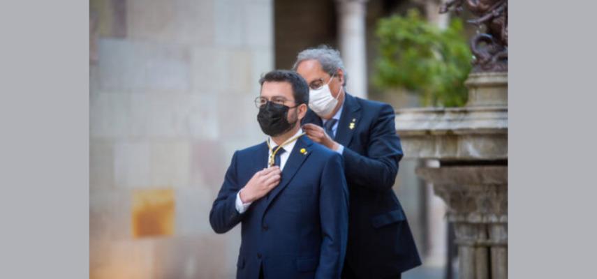 Пере Арагонес вступил в должность 132-го президента Каталонии