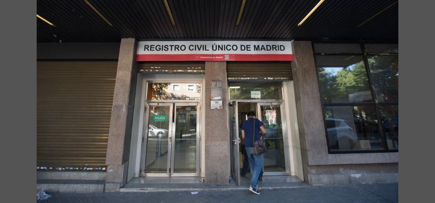 ЗАГС в Мадриде