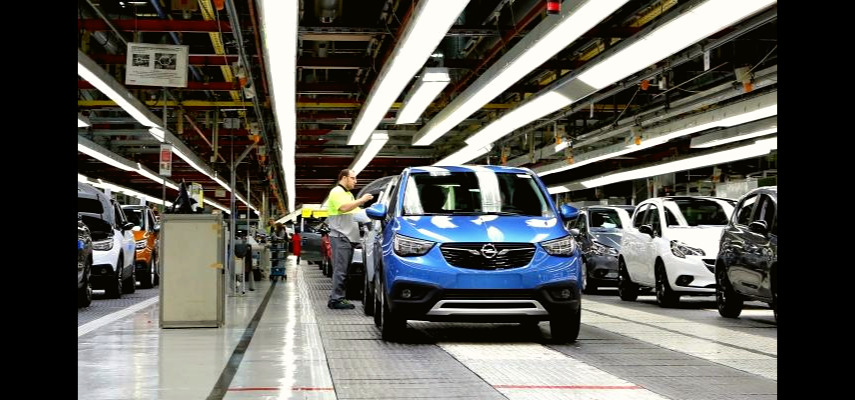 Завод Opel в Сарагосе