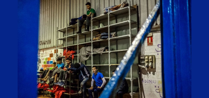 Несовершеннолетние на переднем крае миграционного хаоса