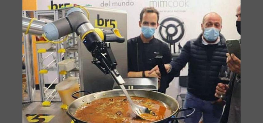 Робот который готовит паэлью