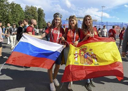 Русские в испании