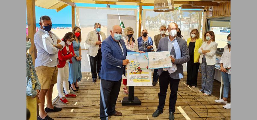 100 андалузских пляжей будут свободны от табачного дыма