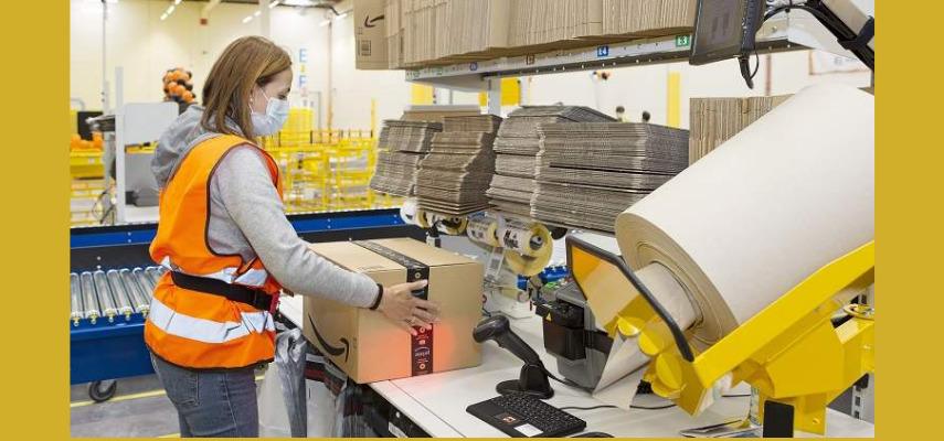 3000 новых рабочих мест в amazon