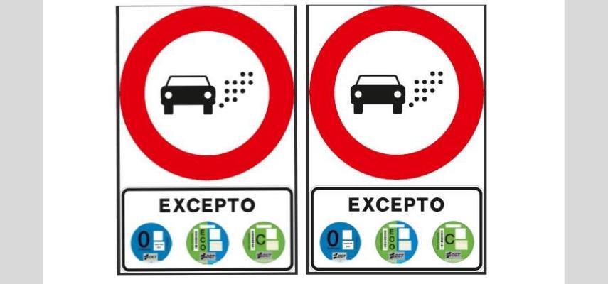 DGT запускает в Испании новый запретный знак